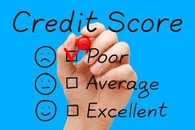 No Credit results in Poor Credit Scores
